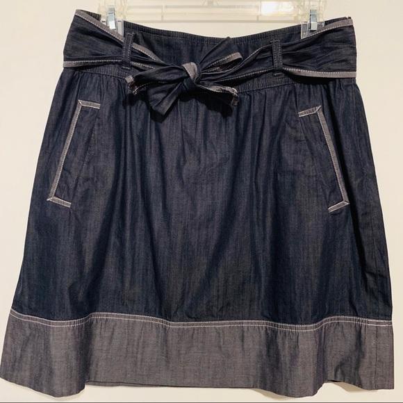 LOFT Dresses & Skirts - LOFT   Ann Taylor Denim Skirt